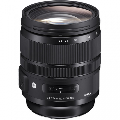 עדשה Sigma 24-70mm F2.8 DG OS HSM Art סיגמה