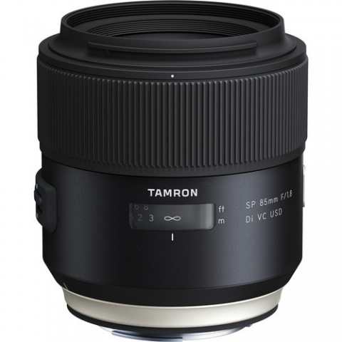 ‏עדשה Tamron SP 85mm f/1.8 Di VC USD