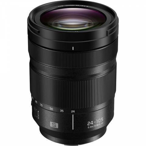 ‏עדשה Panasonic Lumix S 24-105mm f/4 Macro O.I.S פנסוניק