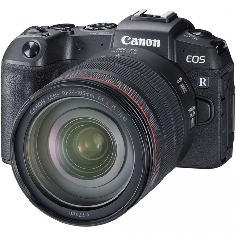 canon eos r + 24-105 rf f/4l is usm kit