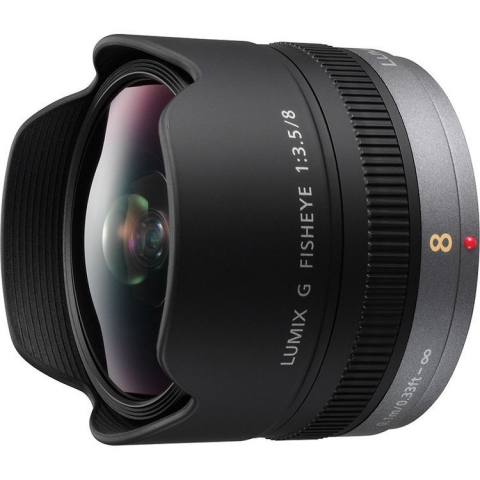Panasonic Lumix G Fisheye 8mm f/3.5 Lens יבואן רשמי