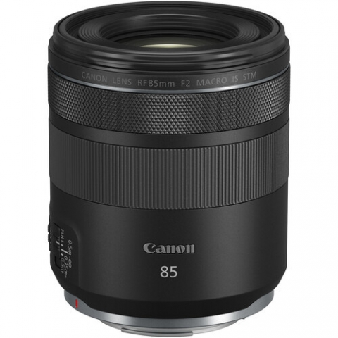‏עדשה Canon RF 85mm f/2 Macro IS STM קנון